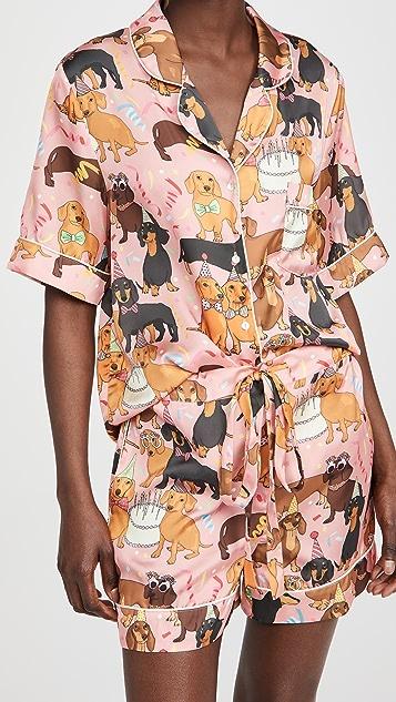Karen Mabon 热狗生日派对短款套装