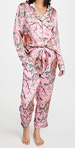 Karen Mabon - Tiger Blossom Pajama Set