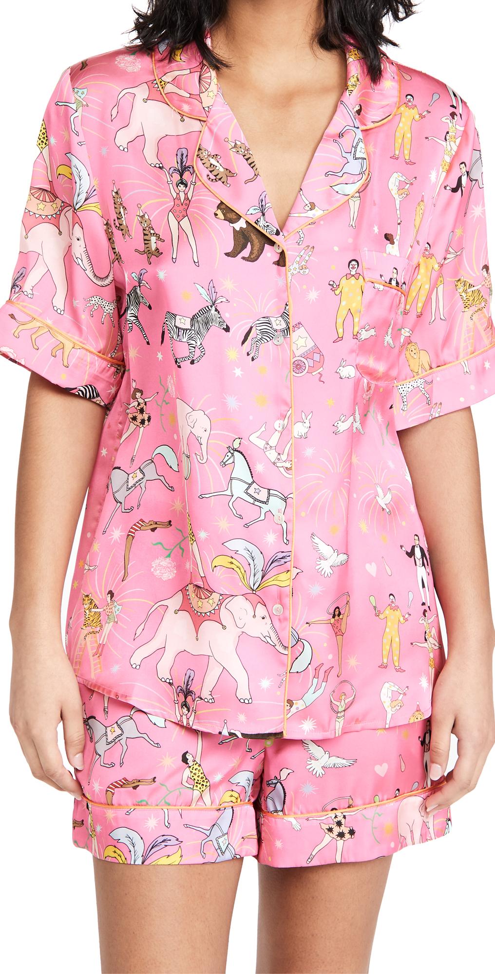 Circus Shorts Pajama Set