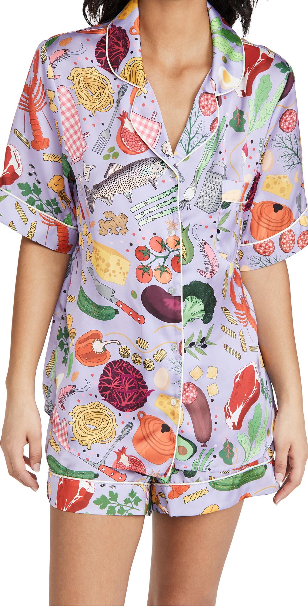 Foodie Short Pyjama Set