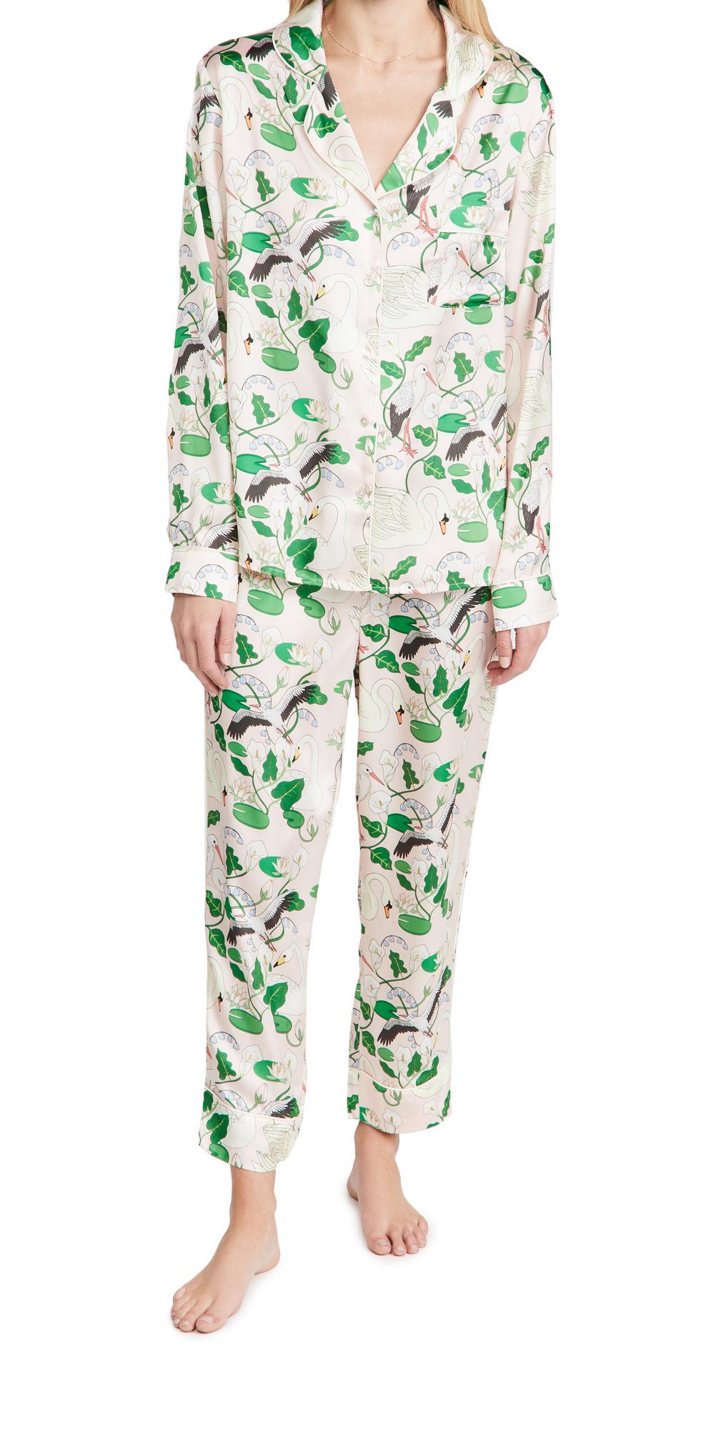 Botanic Gardens Long Pajama Set