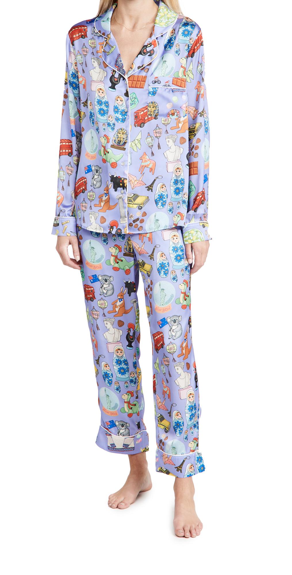 Souvenirs Long Pajama Set