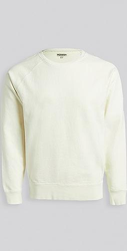 Knickerbocker - Compact Knit Pigment Raglan Crew Sweatshirt