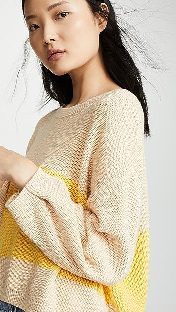 Knot Sisters 条纹毛衣