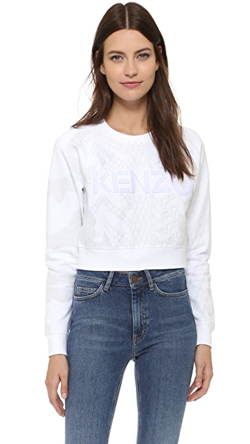 KENZO Crop Sweater