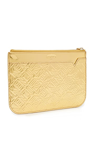 KENZO Embossed Pouch