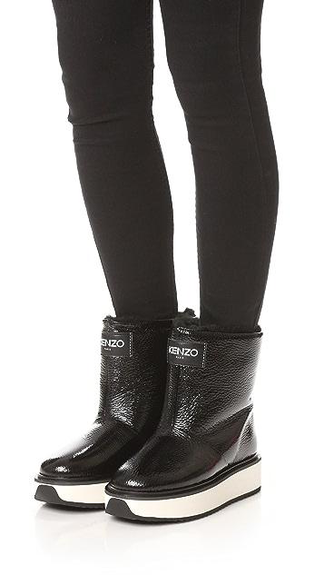 KENZO Snow Boots
