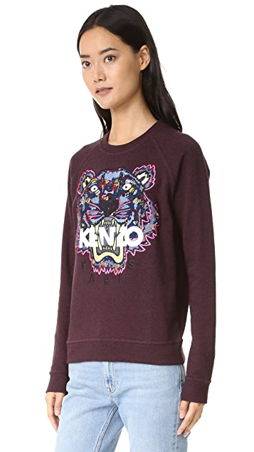 KENZO Tanami Print Tiger Sweatshirt