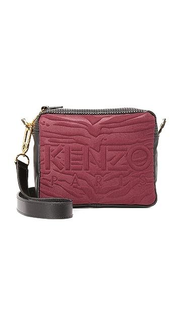 KENZO Canvas Camera Bag
