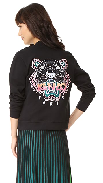 KENZO Embroidered Tiger Jacket
