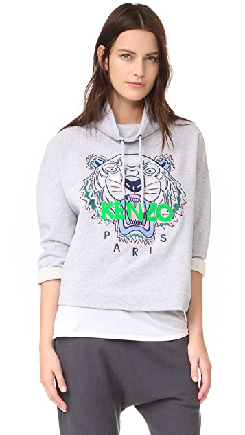 KENZO Embroidered Tiger Pullover