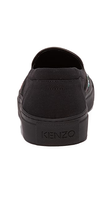KENZO Kenzo Tiger Slip On Sneakers
