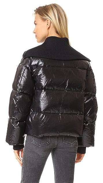KENZO Cropped Down Jacket