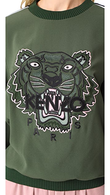 KENZO Soft Tiger Top