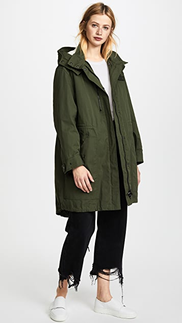 KENZO Parka with Removable Lining