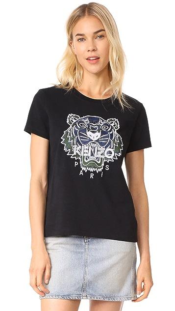4291ceb05b2 KENZO Tiger Straight T-Shirt