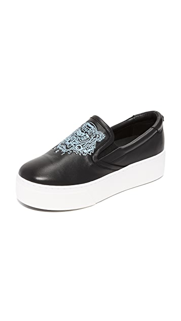 Kenzo Slip-On Sneakers with Patches Gr. EU 36 5Yn755qZhB