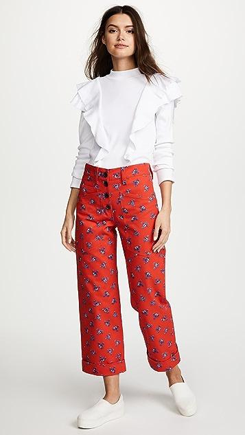 KENZO Cuff Pants