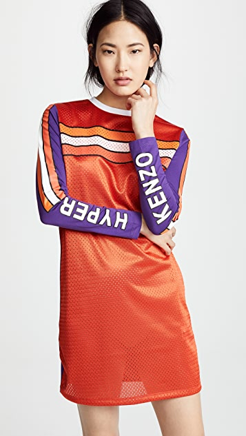 KENZO Patch Long Sleeve Dress