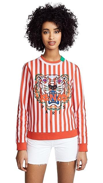 KENZO Tiger Stripe Sweatshirt