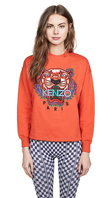 KENZO Tiger Drawstring Sweatshirt