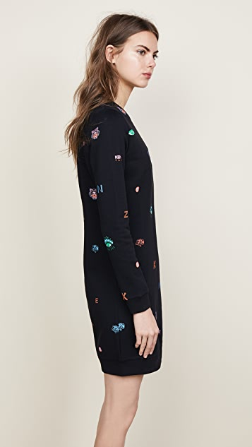 KENZO Icon Sweatshirt Dress