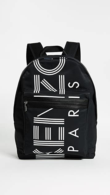 KENZO Sport Backpack - Black