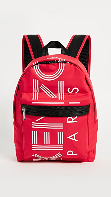 KENZO Sport Small Backpack - Medium Red