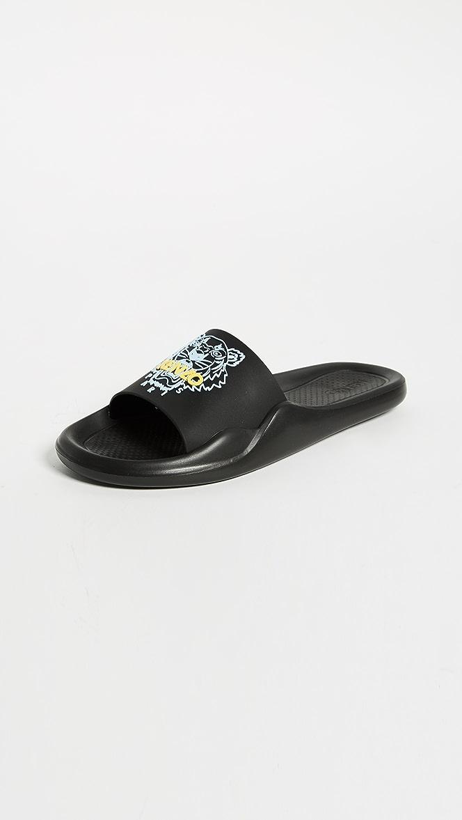 KENZO Tiger Pool Sandals | SHOPBOP