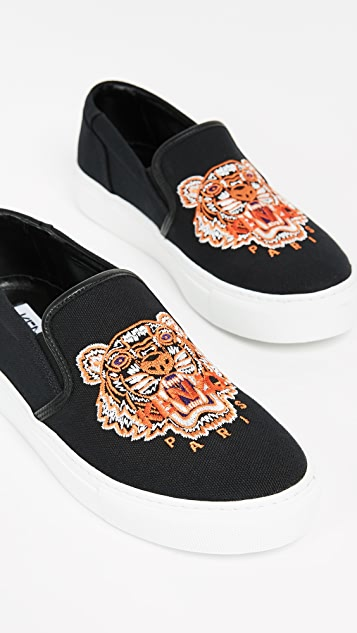 KENZO K-Skate Tiger Sneakers