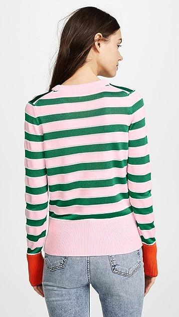 KENZO Crest Stripe Sweater