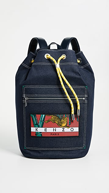 KENZO Backpack - Denim