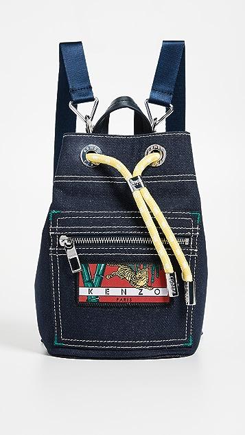 KENZO Mini Backpack - Navy