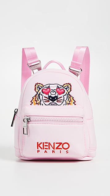 KENZO I Love You Mini Tiger Backpack - Pink
