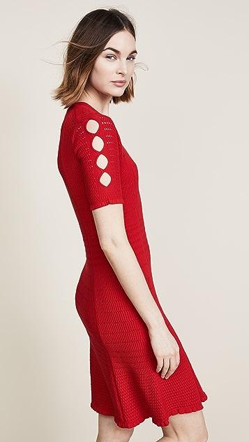 KENZO Lacehole Dress