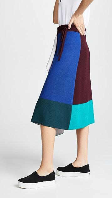 KENZO Mid Length Flare Skirt