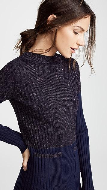 Kenzo Fitted Midi Sweater Dress Shopbop