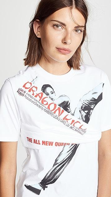 KENZO Dragon Kick T-shirt