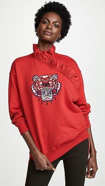 KENZO Tiger Ruffle Sweatshirt
