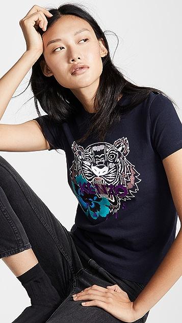a513eb5bee KENZO Flower Tiger Relax T Shirt | SHOPBOP
