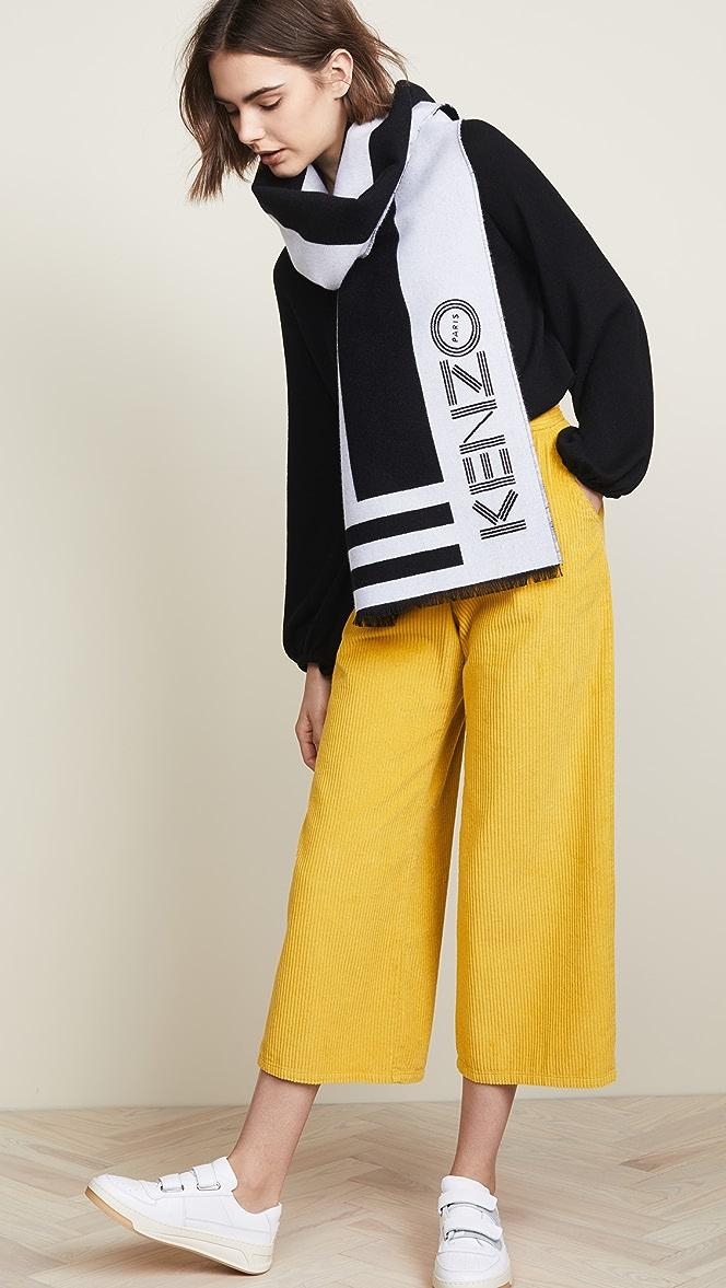 kenzo sport scarf