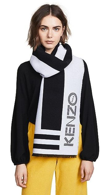 KENZO Kenzo Sport Stole Scarf