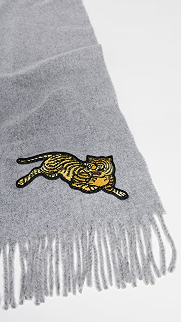 KENZO Jumping Tiger Stole 围巾