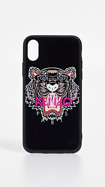 KENZO Coque iPhone X Tiger Case