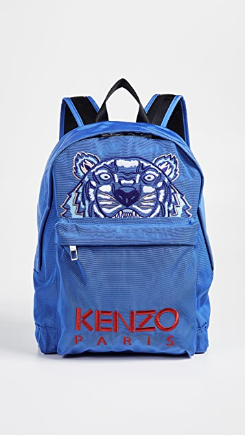 KENZO Tiger Blue Capsule Backpack