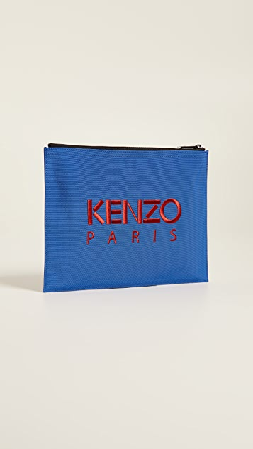 KENZO Tiger Blue Capsule Pouch