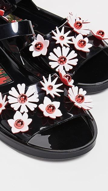 KENZO Сандалии Chiba с цветами