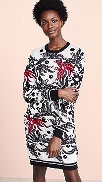 Phoenix Jacquard Sweater Dress