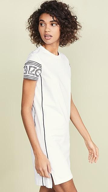 KENZO Короткое спортивное платье-футболка New Kenzo