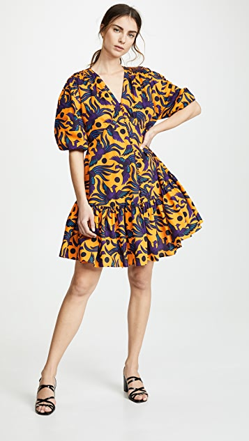 KENZO V Neck Dress
